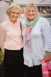 Mary Berry and Lotte Duncan