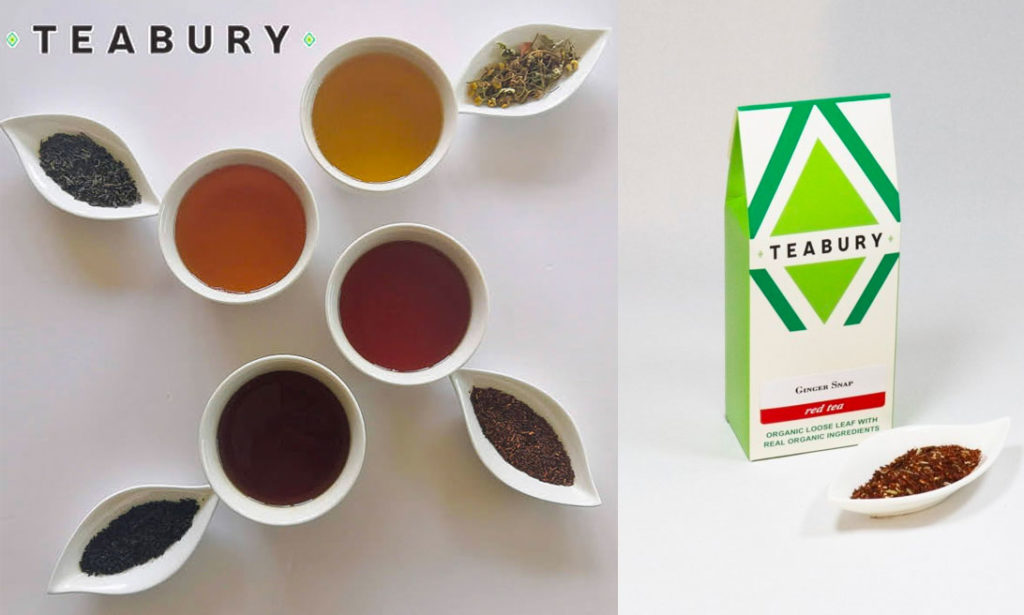 ginger spice tea by teabury