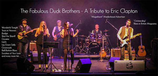 THE DUCK BROTHERS – A TRIBUTE TO THE WORK OF ERIC CLAPTON